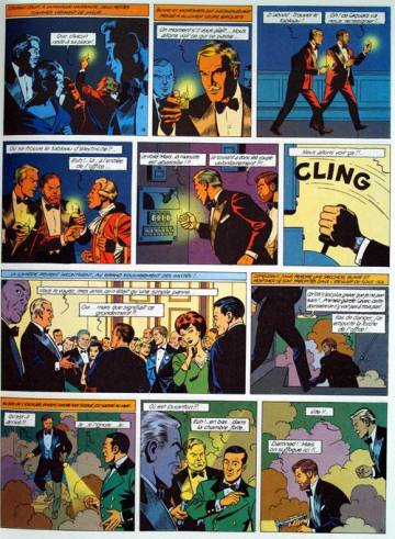 Extrait de l'album BLAKE ET MORTIMER Tome #10 L'affaire du collier