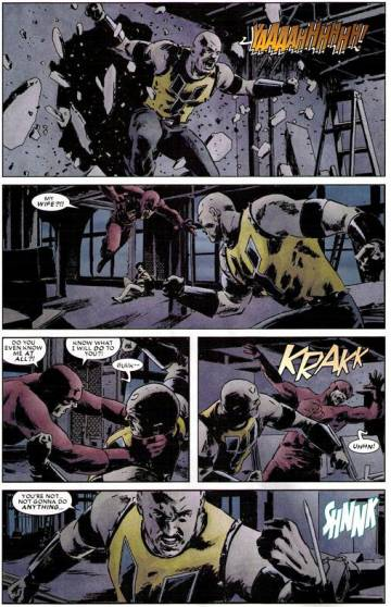 Extrait de l'album DAREDEVIL Tome #15 The Devil, Inside and Out 2