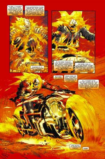 Extrait de l'album GHOST RIDER Tome #5 Hell Bent & Heaven Bound