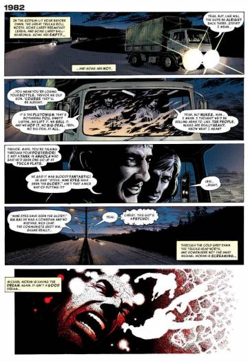 Extrait de l'album MIRACLEMAN Tome #1 vo Book 1: A dream of flying