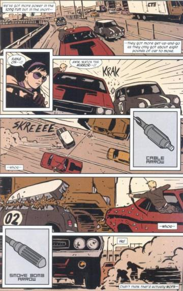 Extrait de l'album VO HAWKEYE Tome #1 My life as a weapon