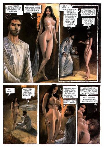 bande-dessinée, THAMARA & JUDA, From the Bible Genesis chapter 38