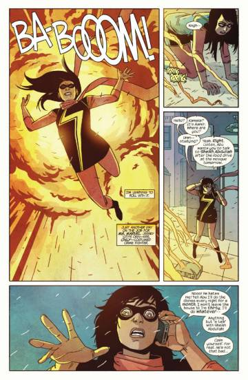 Extrait de l'album MS. MARVEL Tome #2 Generation Why