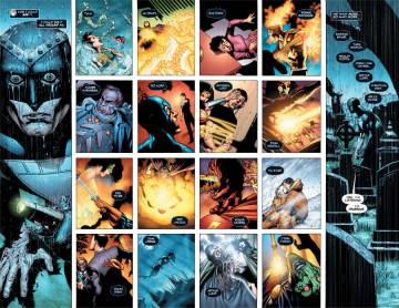 Extrait de l'album GREEN LANTERN Tome #10 Blackest Night