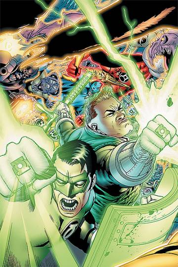Extrait de l'album GREEN LANTERN CORPS Tome #6 Blackest Night