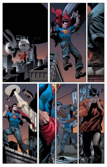 Extrait de l'album ACTION COMICS Tome #1 Superman and the Men of Steel