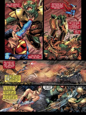 Extrait de l'album EARTH 2 Tome #1 vo The Gathering