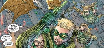 Extrait de l'album VO GREEN ARROW (NEW 52) Tome #2 Triple threat