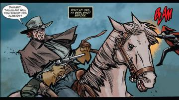 Extrait de l'album ALL STAR WESTERN Tome #2 War of Lords and Owls