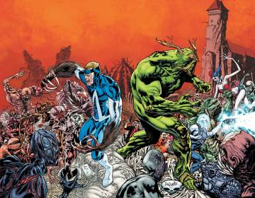 Extrait de l'album SWAMP THING (THE NEW 52) Tome #3 Rotworld  : The Green Kingdom