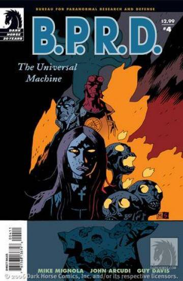 Extrait de l'album B.P.R.D. Tome #6 The Universal Machine