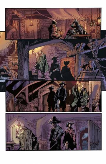 Extrait de l'album SOLOMON KANE Tome #2 Death's Black Riders