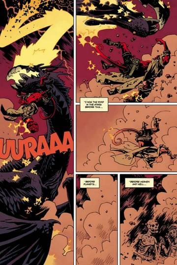 Extrait de l'album HELLBOY Tome #12 The Storm and the Fury