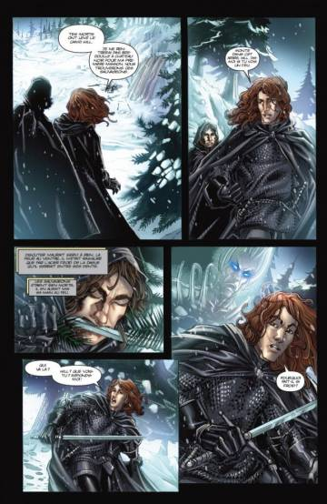 Extrait de l'album A GAME OF THRONES Tome #1 Le trône de fer volume 1