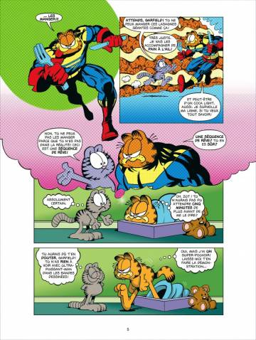 Extrait de l'album GARFIELD COMICS Tome #1 Tome 1
