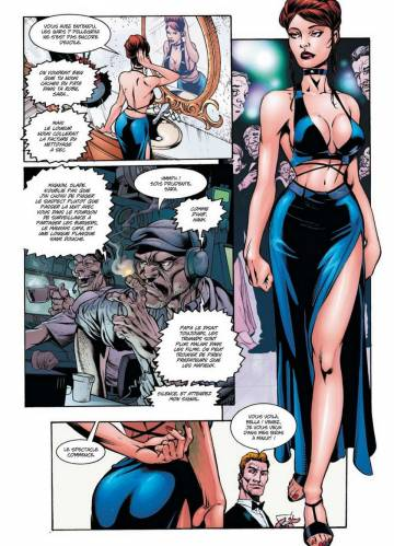 Extrait de l'album ALIENS, DARKNESS, WITCHBLADE, PREDATOR ALIENS, DARKNESS, WITCHBLADE, PREDATOR