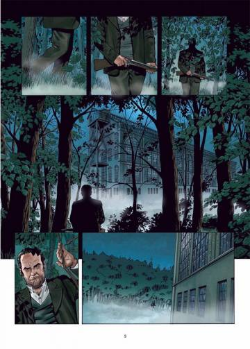 Extrait de l'album SHERLOCK HOLMES : CRIME ALLEY Tome #2/2 Vocations forcées