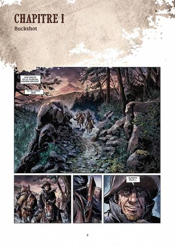 Extrait de l'album WEST LEGENDS Tome #2 Billy the Kid, the Lincoln County War