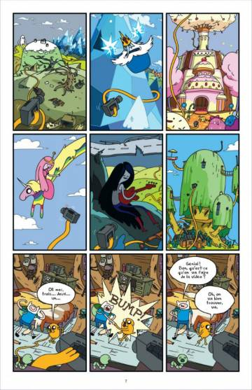 Extrait de l'album ADVENTURE TIME Tome #1 Volume 1