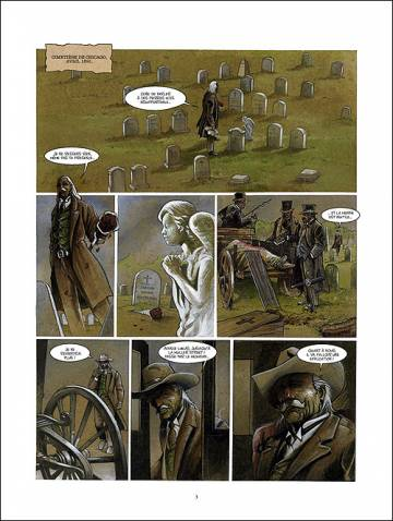 Extrait de l'album H.H.HOLMES Tome #2 White City