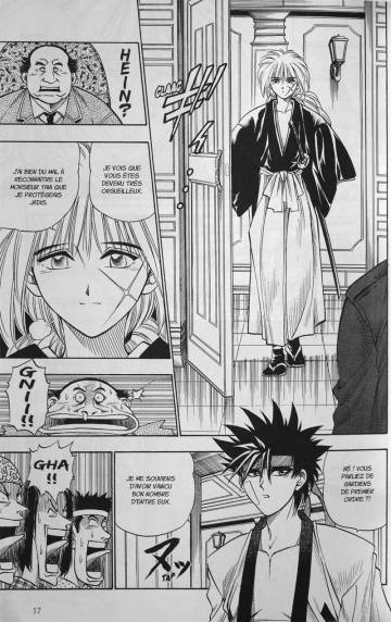 Extrait de l'album KENSHIN LE VAGABOND - PERFECT EDITION Tome #2 Volume 2