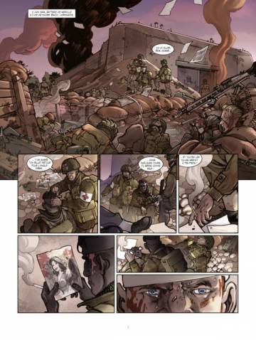 Extrait de l'album OPERATION OVERLORD Tome #3 La batterie de Merville