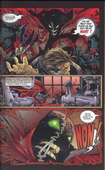 Extrait de l'album SPAWN Tome #4 Damnation