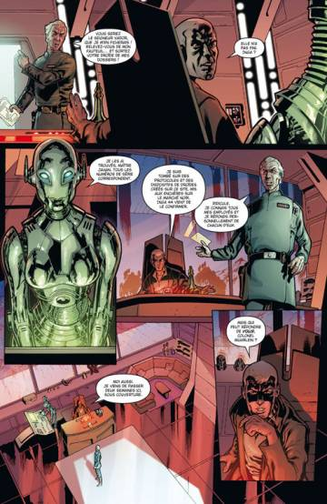 Extrait de l'album STAR WARS AGENT DE L'EMPIRE Tome #1 Projet Eclipse