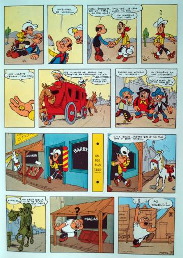 Extrait de l'album LUCKY LUKE Tome #3 Arizona