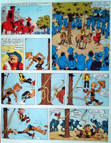 Extrait de l'album LUCKY LUKE - L'INTEGRALE Tome #1 1946 - 1949