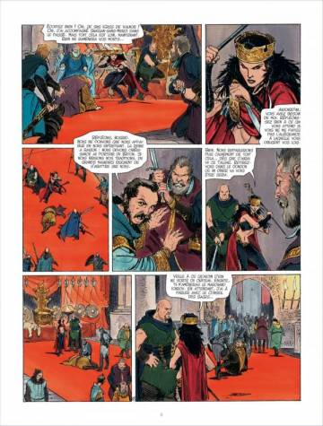 Extrait de l'album LES MONDES DE THORGAL Tome #4 Kriss de Valnor tome 4 : Alliances