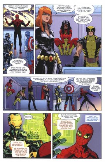 Extrait de l'album V.F. THE SUPERIOR SPIDER-MAN Tome #5 Tome 5