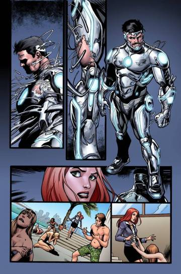 Extrait de l'album SUPERIOR IRON-MAN Tome #1 Superior Iron-Man