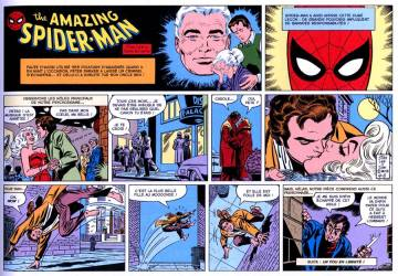 Extrait de l'album AMAZING SPIDER-MAN : LES COMICS STRIPS Tome #2 1979 - 1981
