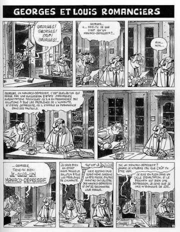 Extrait de l'album GEORGES ET LOUIS Tome #2 Introduction à la psychologie de bazar